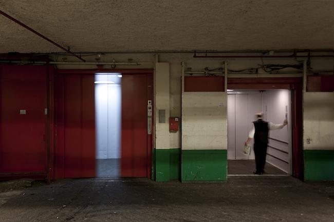 Title: Ascenseur, 30x45 cm, Inkjet print, 2012
