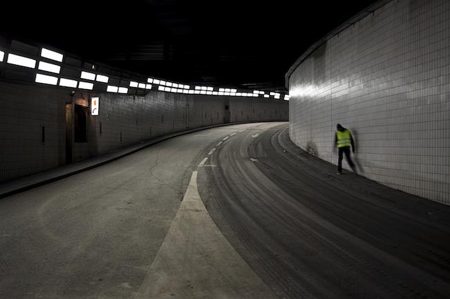 Title: Tunnel, 30x45 cm, Inkjet print, 2012