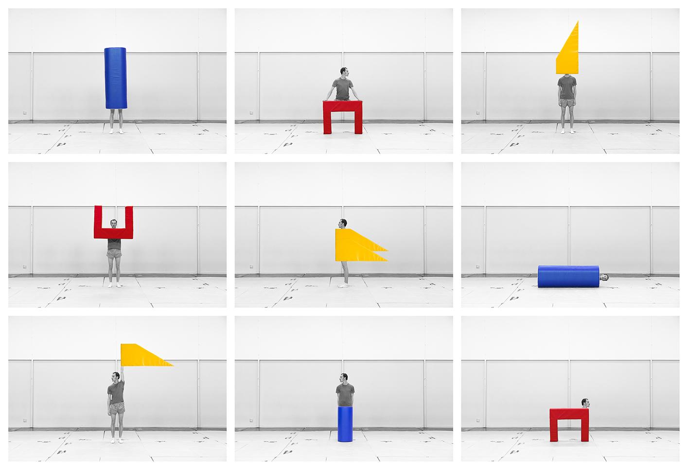 Le Modulor series, 9 photographs 37 x 55,5 cm, Inkjet print, 2014