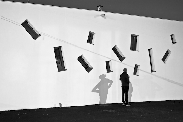 Title: La silhouette, Parade series, 24 x 36 cm, Inkjet print, 2013