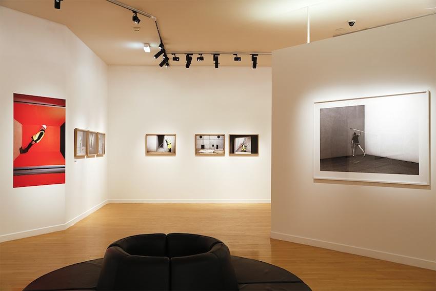 Exhibition view - Solaris & Folding series - Curator François Cheval - Arsenal - Metz - Fr, 2015