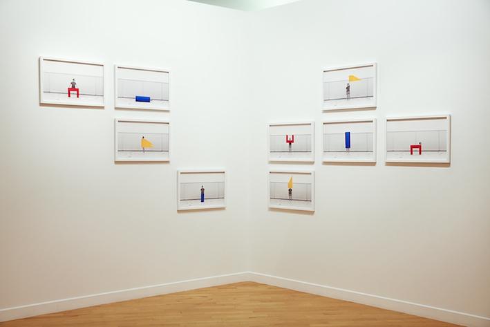 Le Modulor series - HSBC award - Curator: François Cheval & Audrey Hoareau - Arsenal - Metz - Fr, 2015