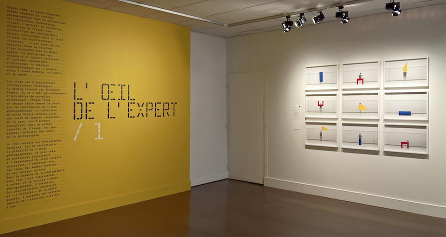 Le Modulor Series - Collective show L'oeil de l'expert - Curator: François Cheval - Nicéphore Niépce museum - Chalon-sur-Saône - Fr, 2016