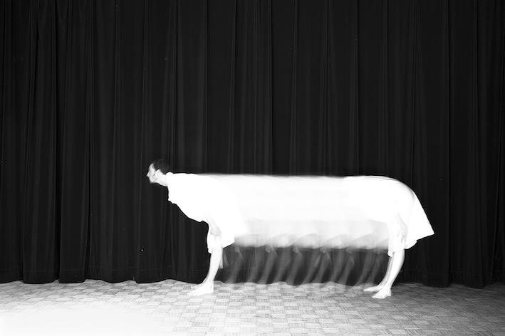 Title: La vache, Animal locomotion series, 20x30 cm, Backlight print on lightbox, 2015