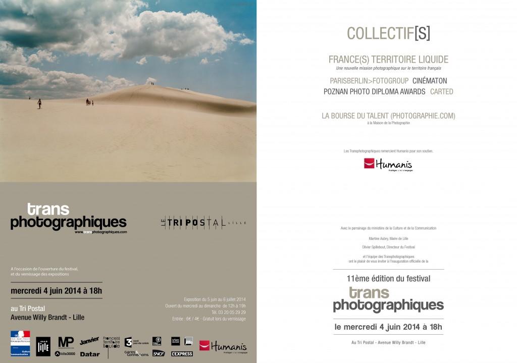 Frances Territoire Liquide transphotographique Tri Postal 2014