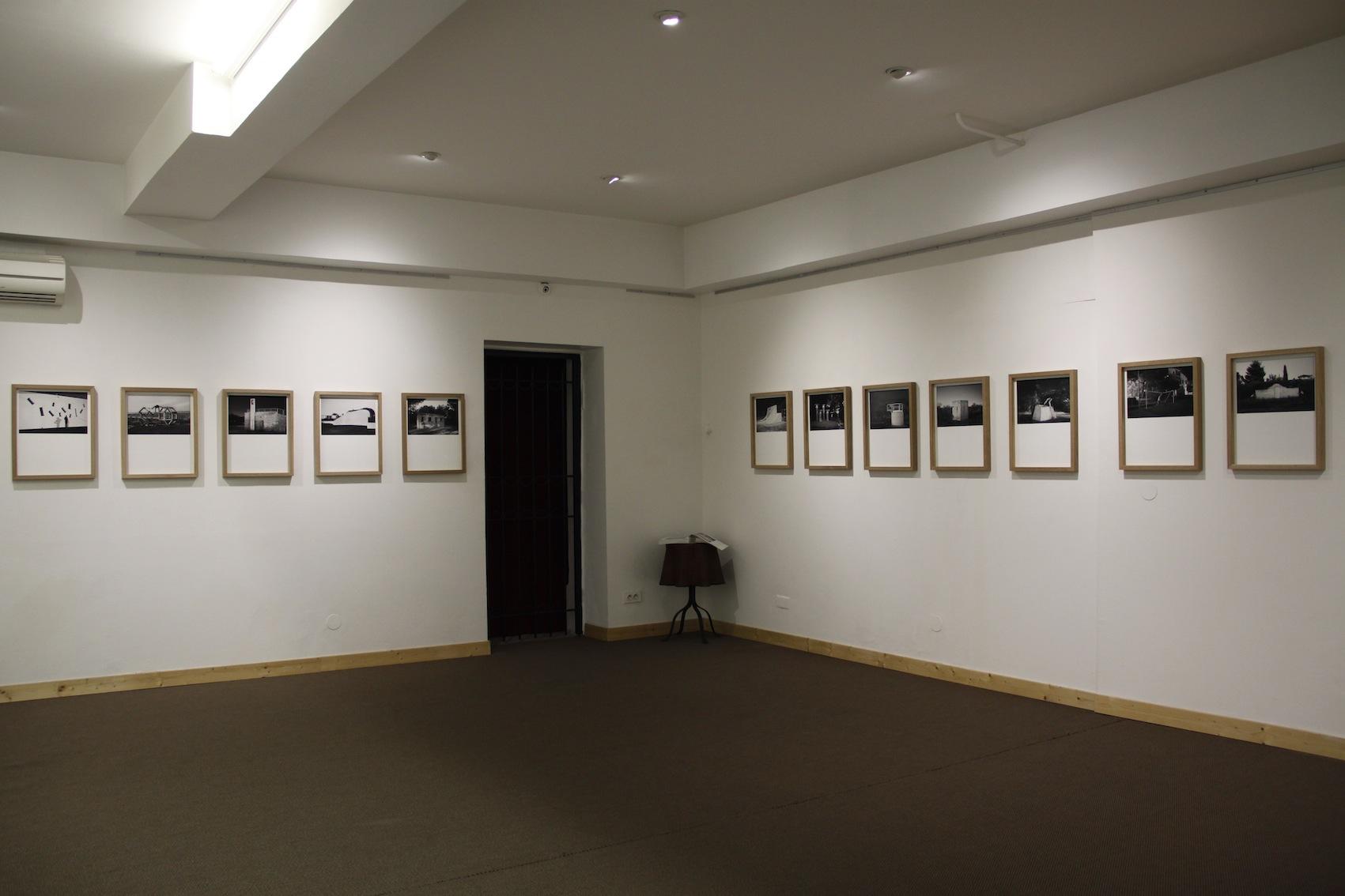 Vue expo galerie Annie Gabrielli